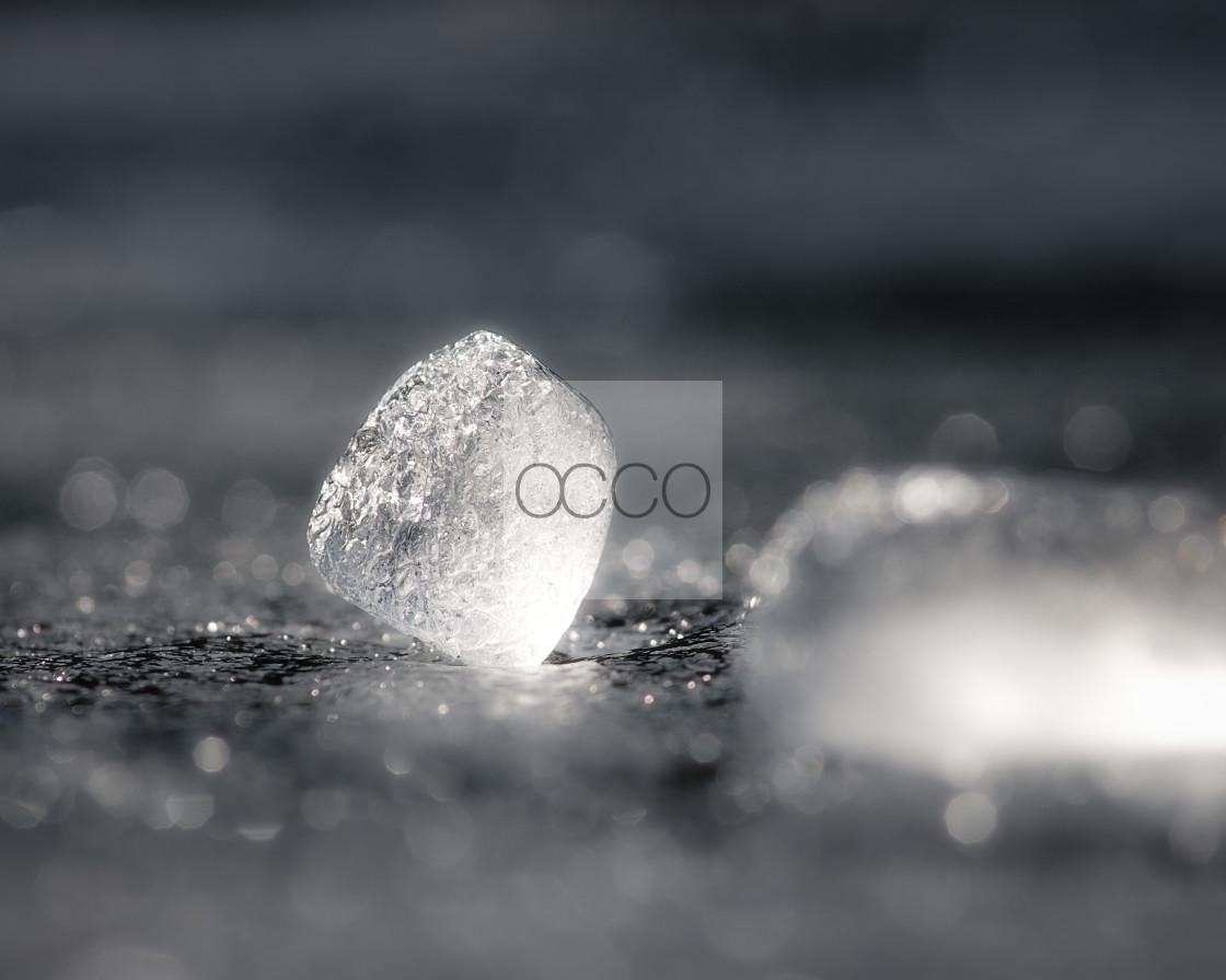 """Ice on ice"" stock image"