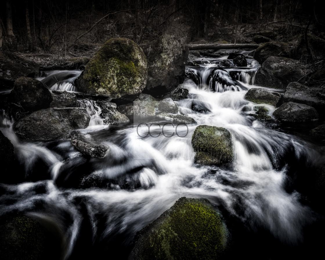 """The Creek"" stock image"