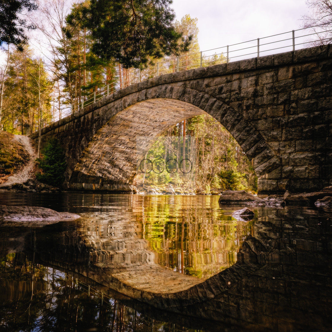 """The bridge"" stock image"