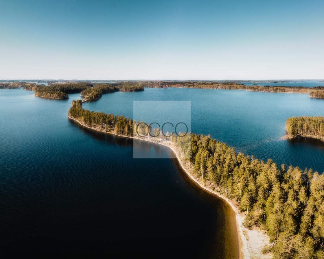 """Woods & water"" stock image"