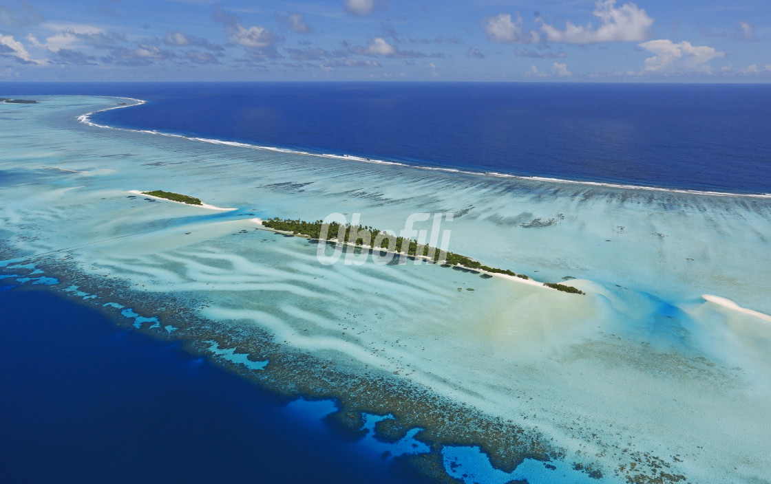 """Maldive Islands"" stock image"