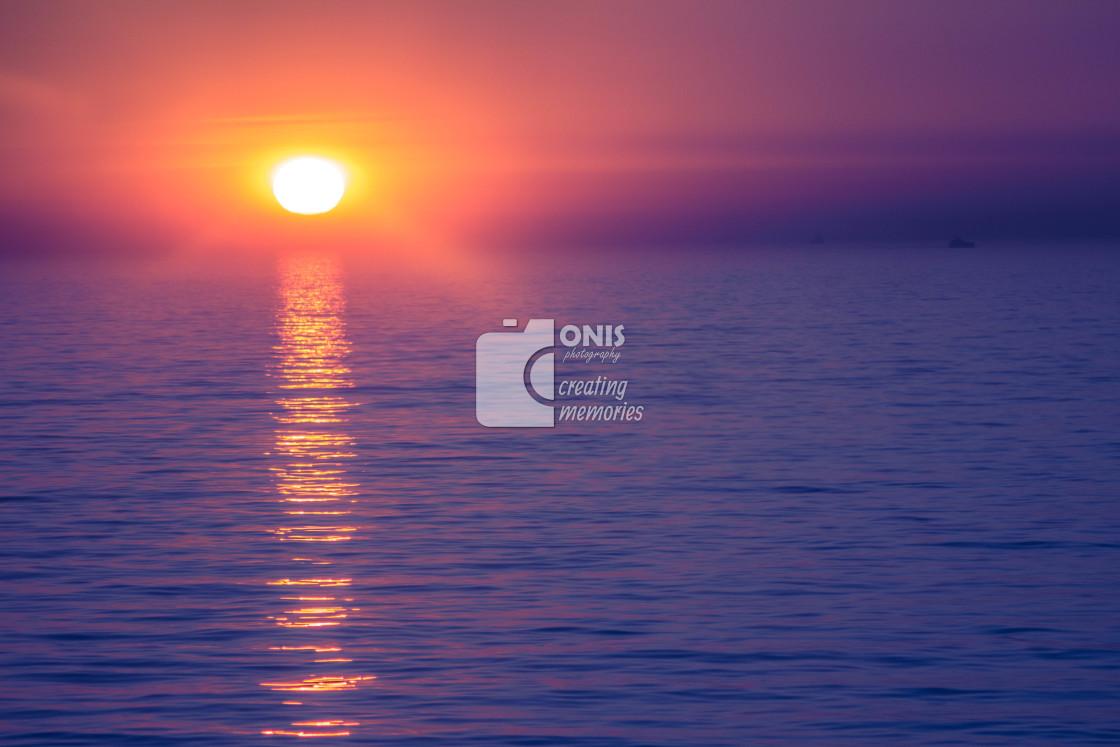 """Sunset"" stock image"
