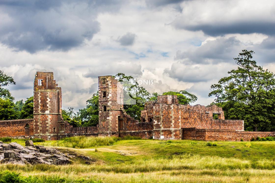 """Castle Ruins"" stock image"