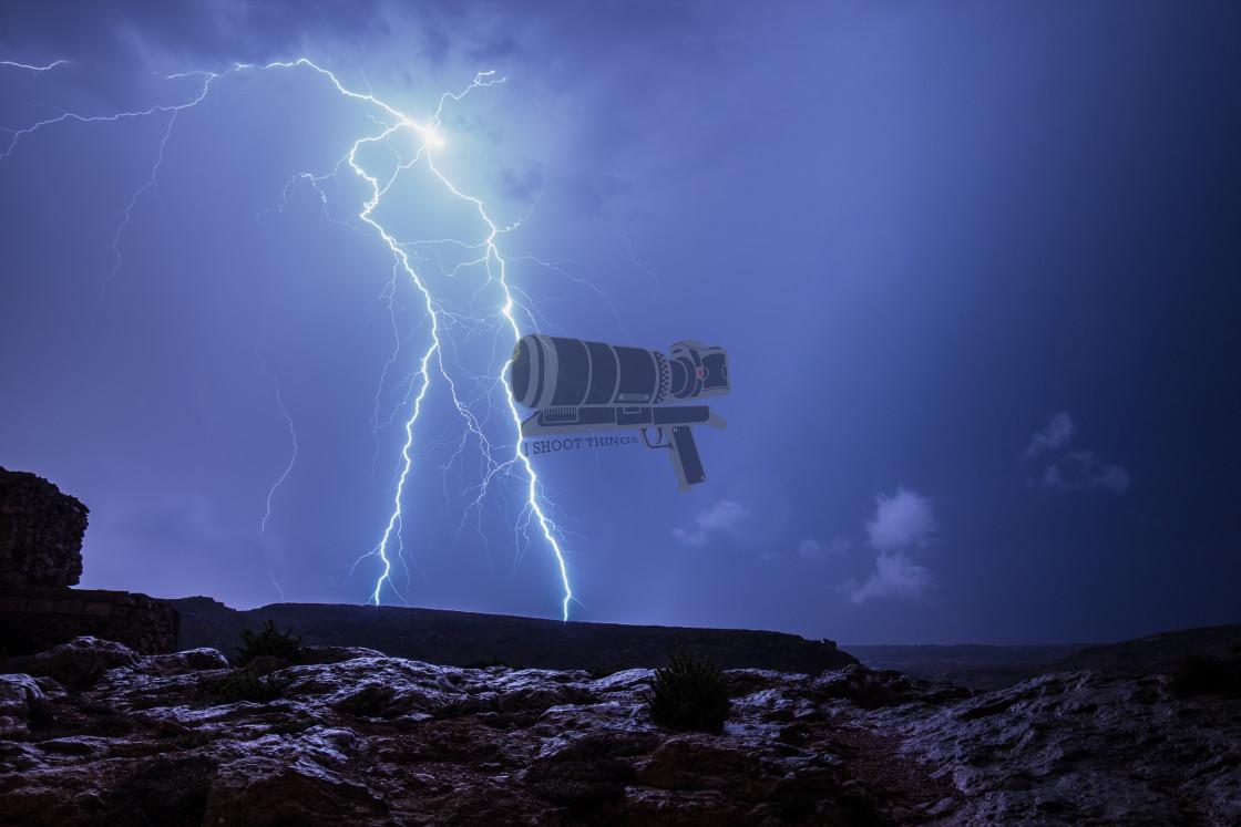 """""""Fork Lightning"""" stock image"""