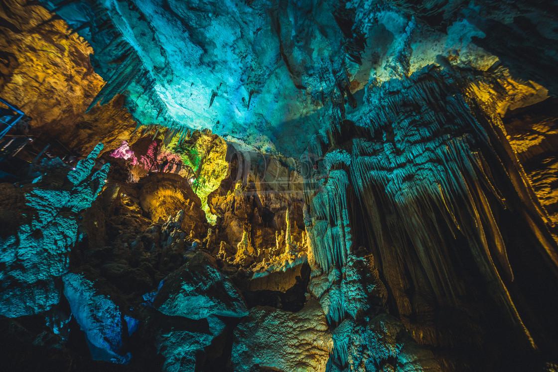 """Prometheus cave"" stock image"