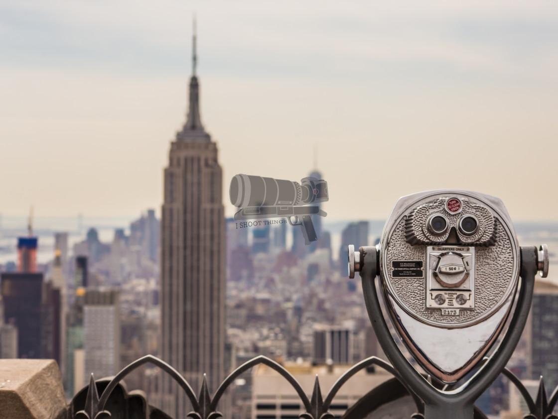 """New York View"" stock image"