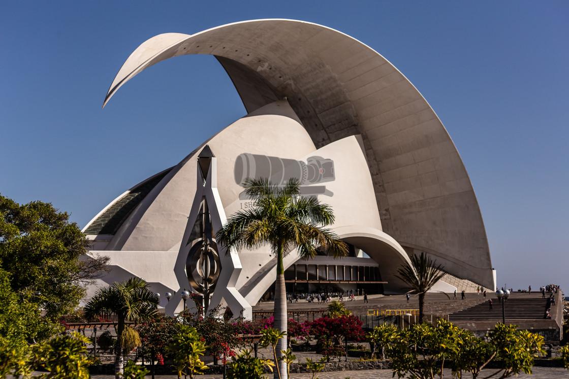 """Auditorio de Tenerife"" stock image"
