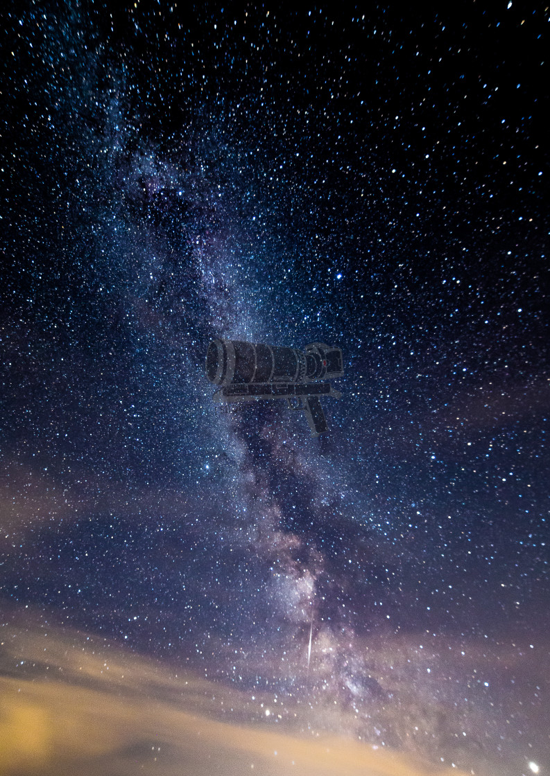 """Milky way 2"" stock image"