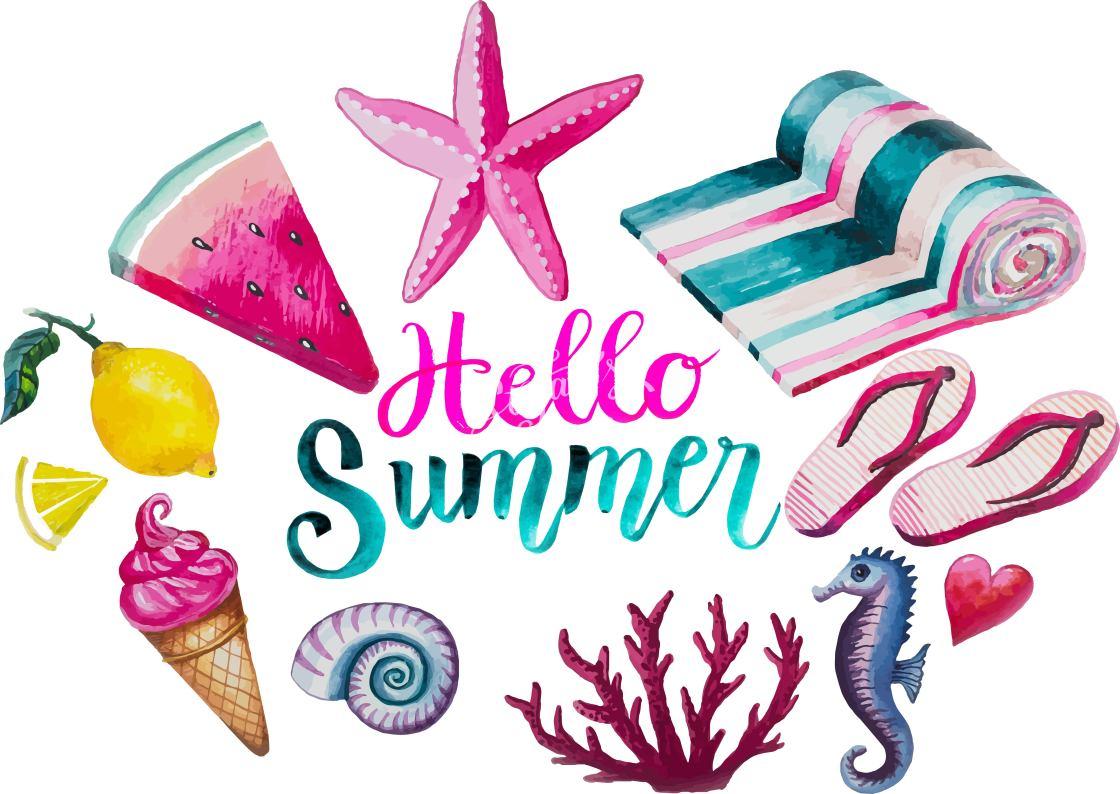 """hello summer"" stock image"
