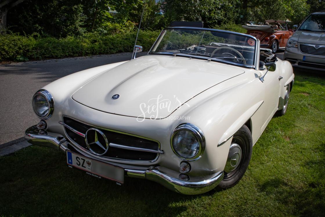 """Mercedes-Benz 190 SL"" stock image"