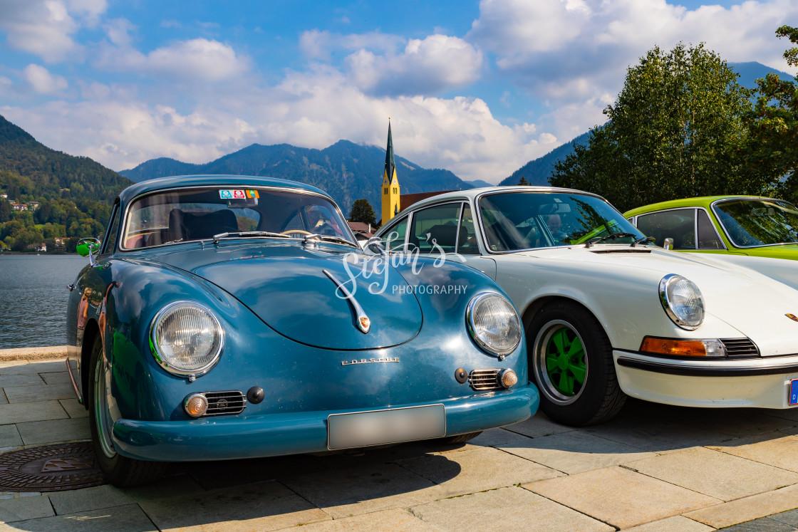 """""""Porsche A 356"""" stock image"""