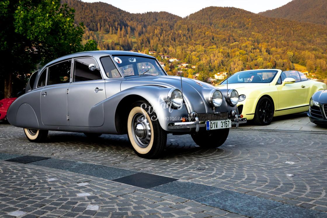 """""""Tatra 87"""" stock image"""