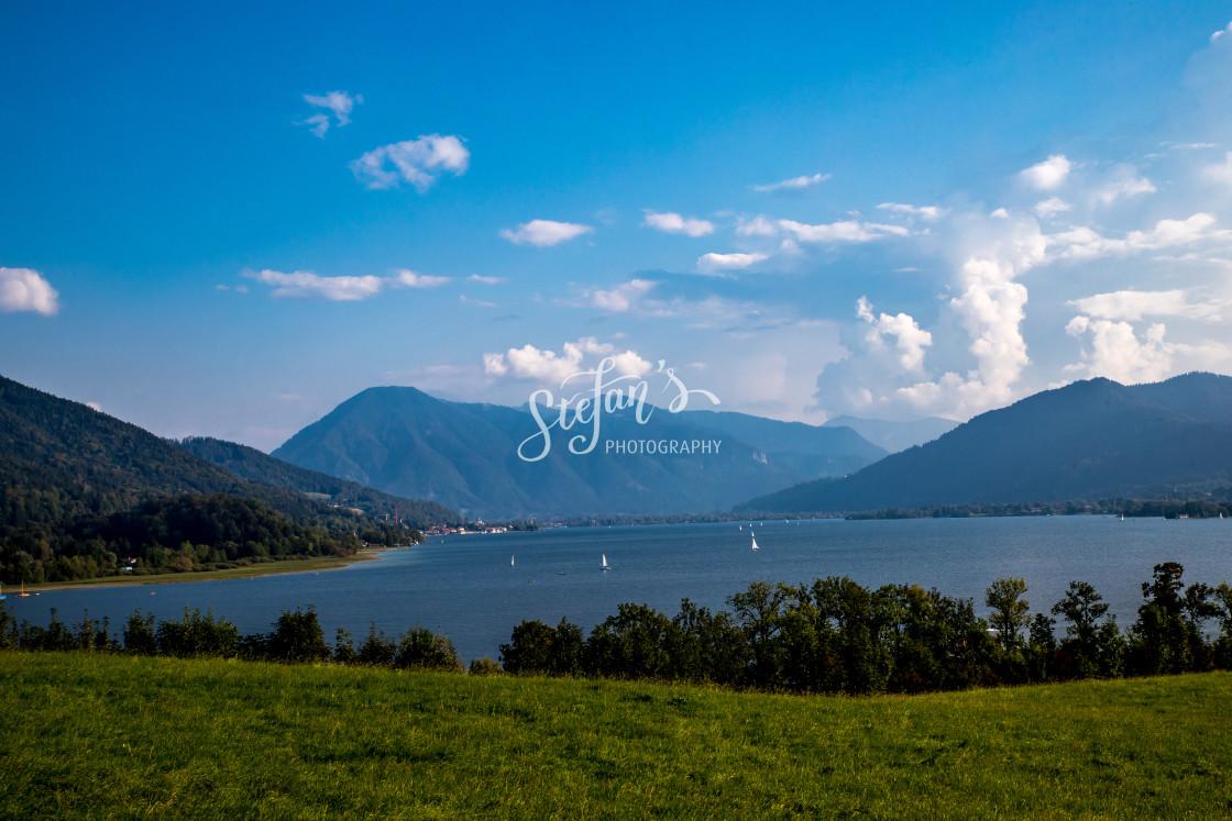 """Tegernsee in Bavaria"" stock image"