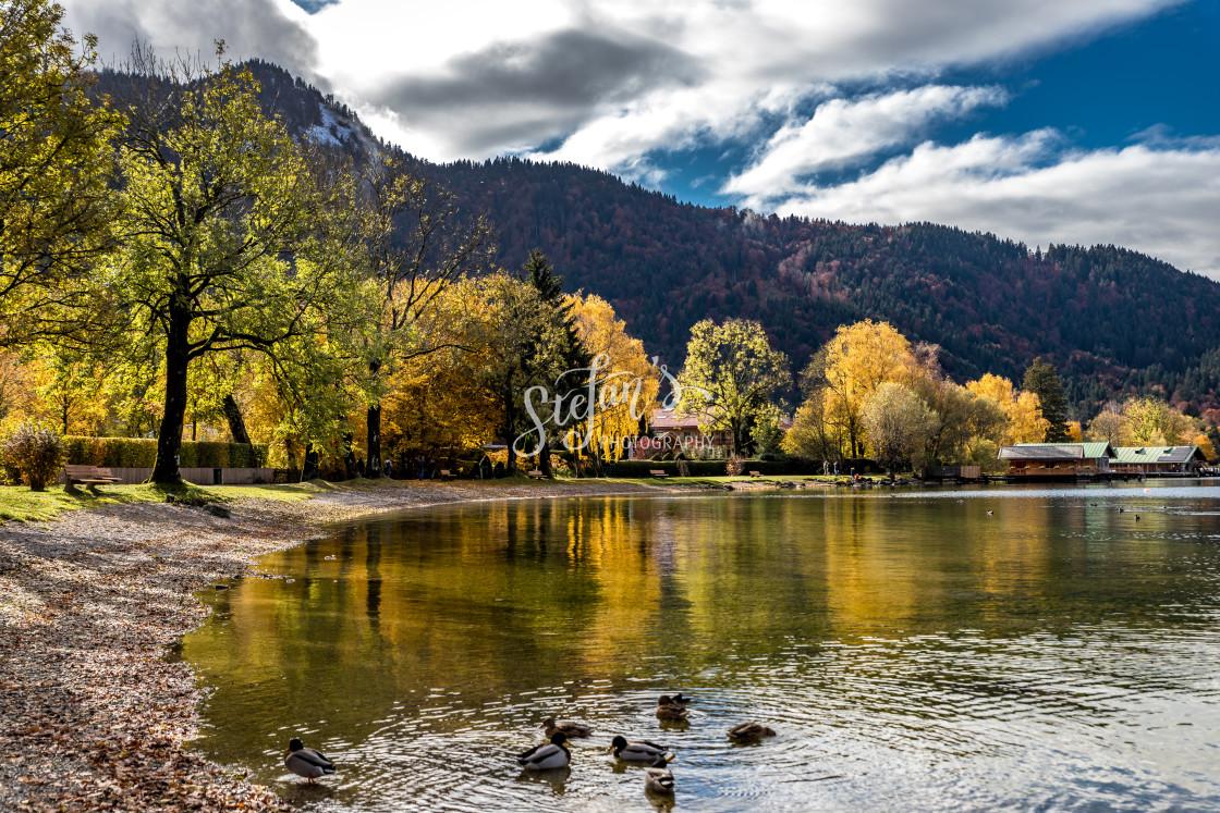 """""""Autumn mood at the sea"""" stock image"""