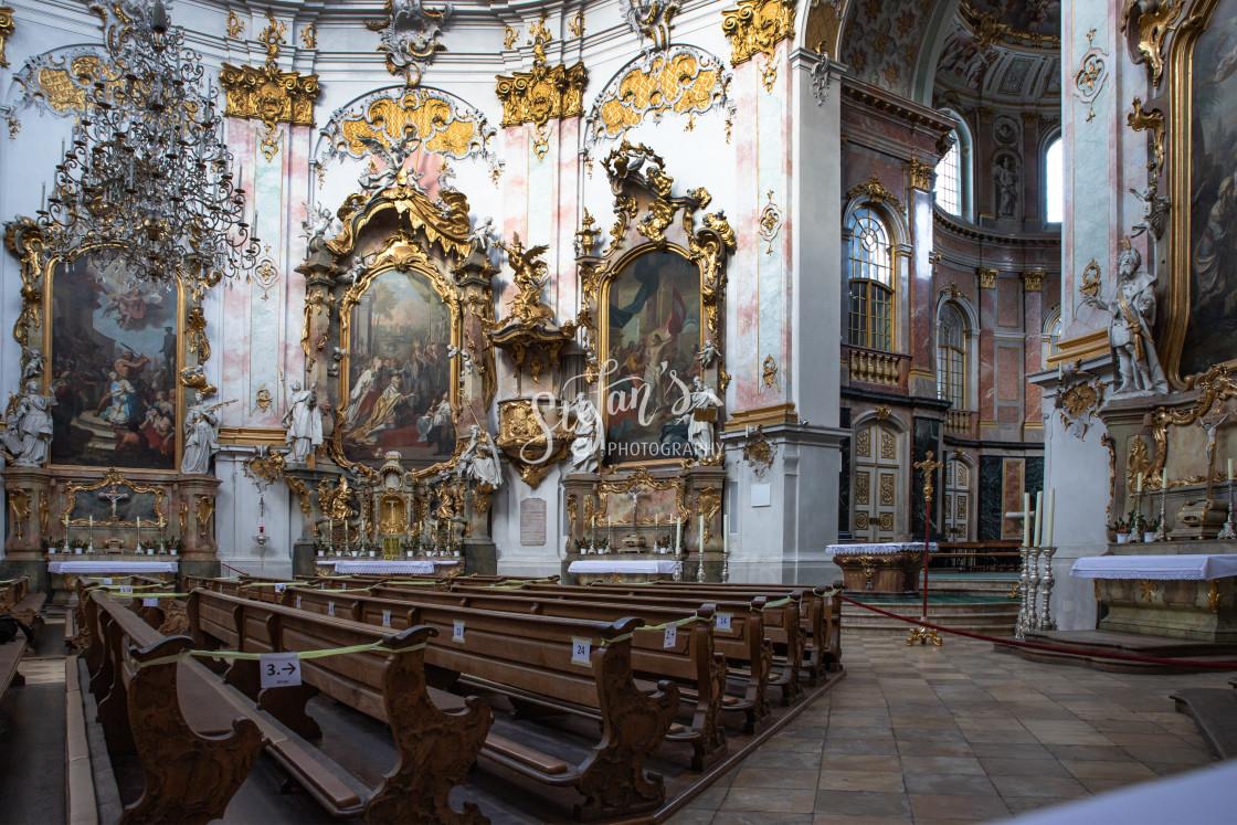 """""""Ettal Abbey"""" stock image"""