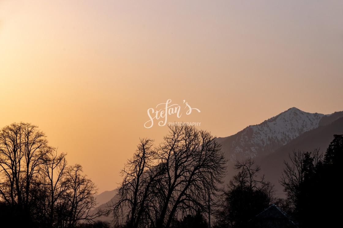 """Alps near Garmisch-Partenkirchen"" stock image"