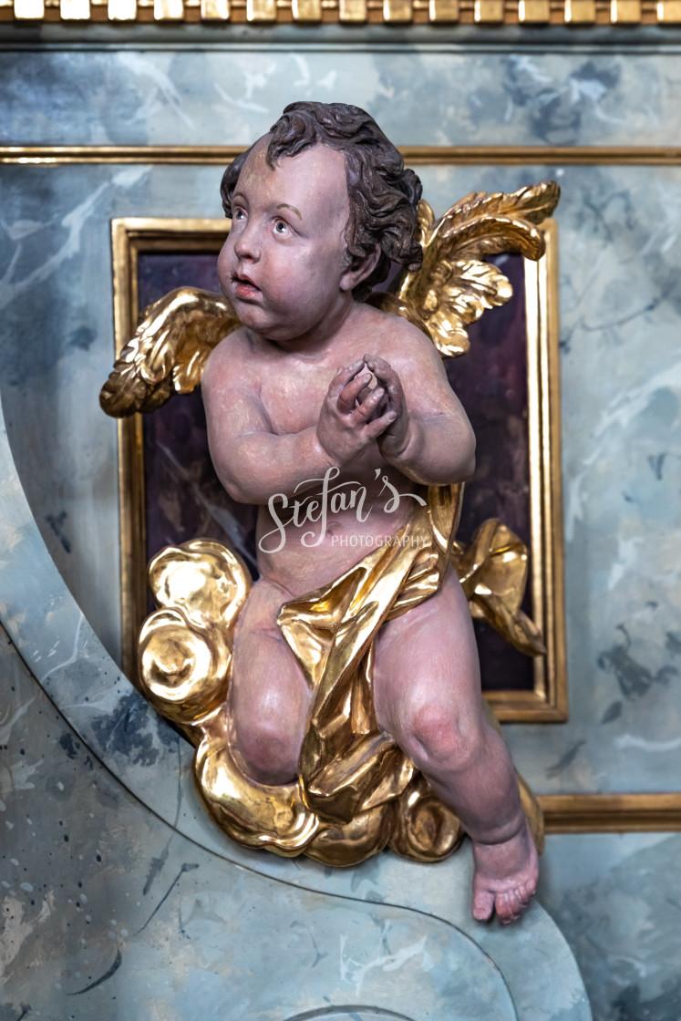 """baroque angel"" stock image"