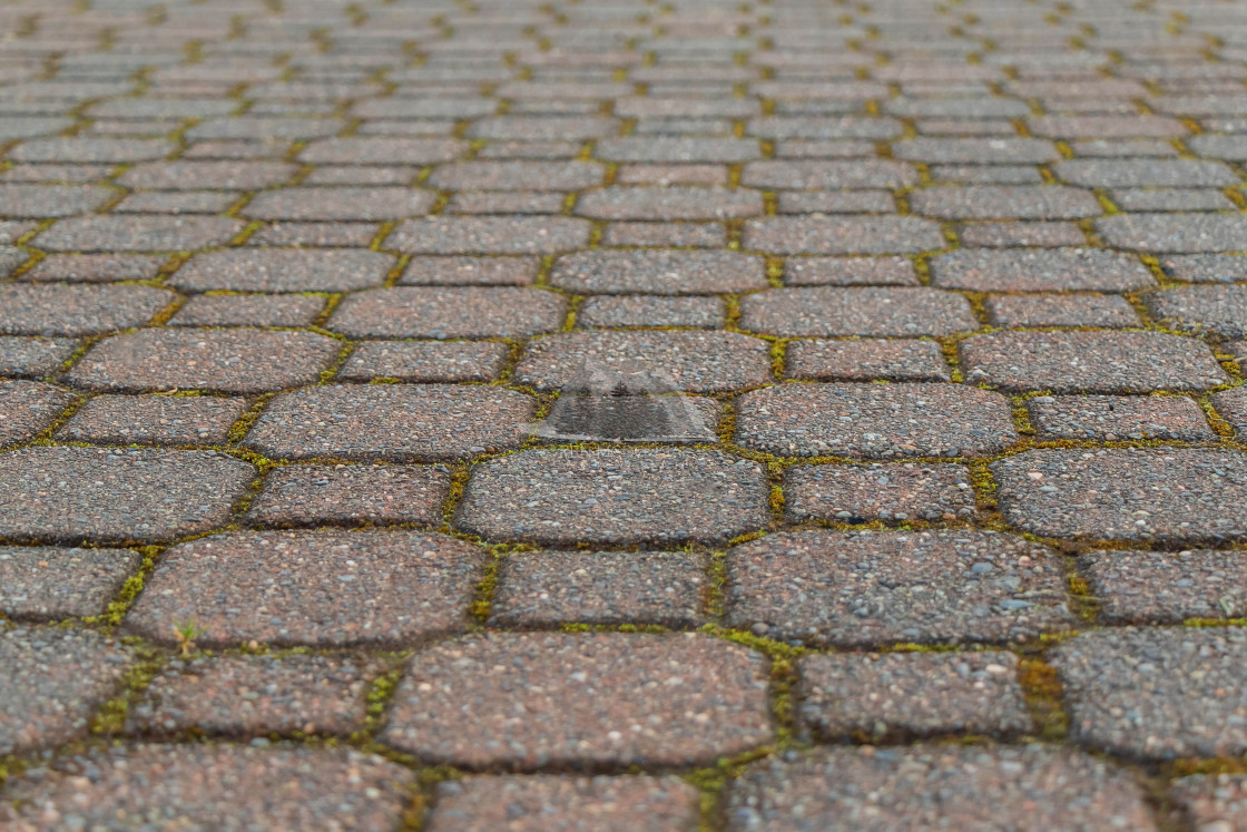 """""""Rectangle Repeating Brick Pattern"""" stock image"""