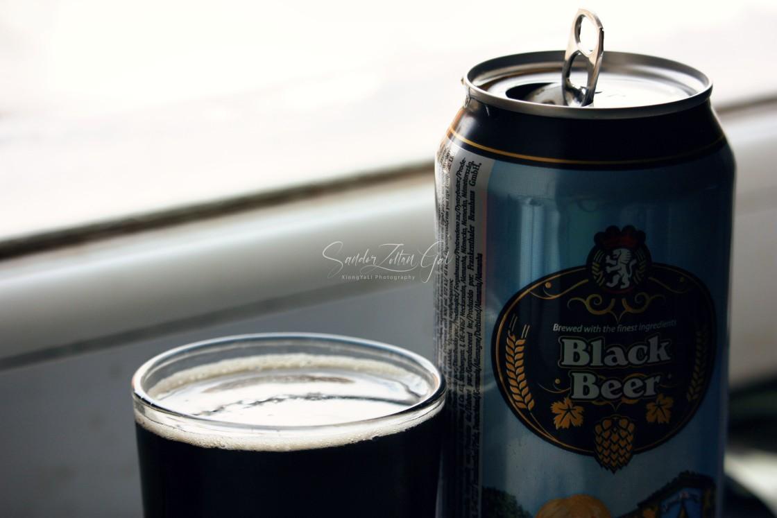 """Black beer"" stock image"