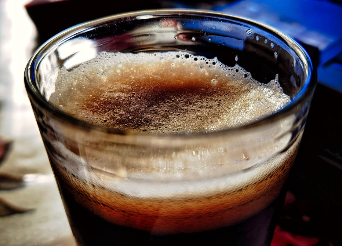 """""""Cheers - Black Beer"""" stock image"""