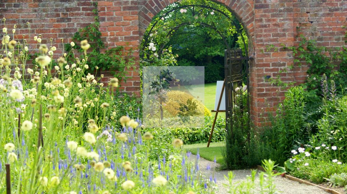 """Country Garden"" stock image"