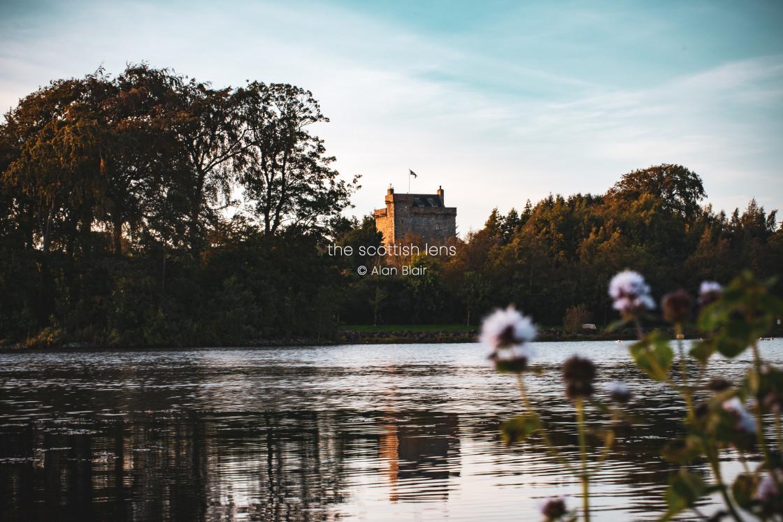 """Mains Castle"" stock image"