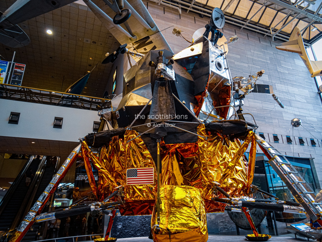 """The Apollo 11 Moonlander"" stock image"