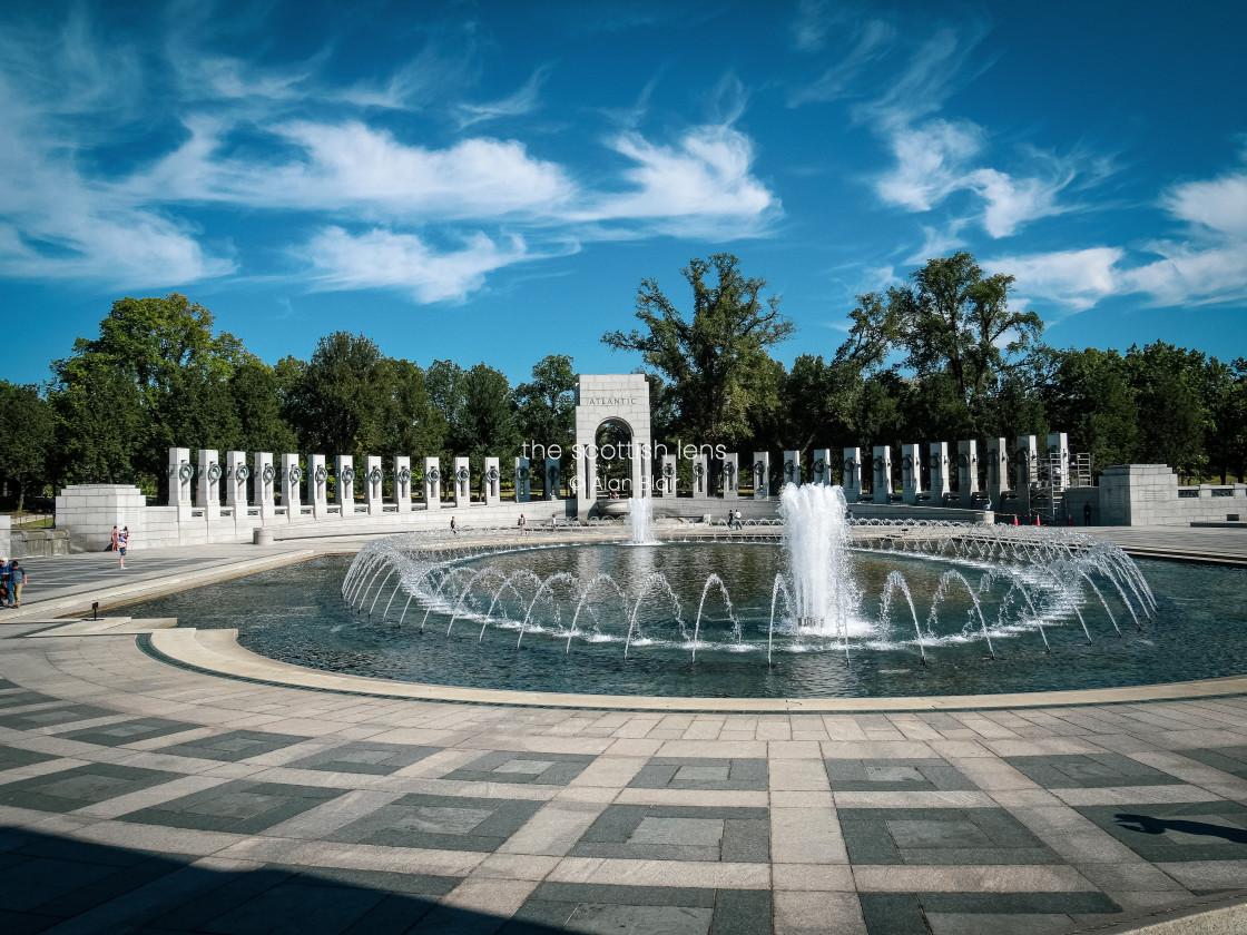 """""""World War II Memorial"""" stock image"""