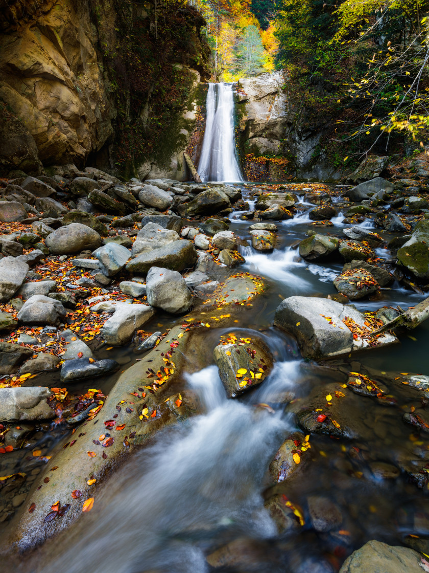 """Casoca waterfall"" stock image"