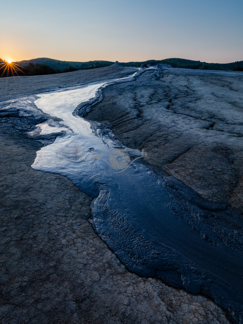 """""""Hydrocarbon river"""" stock image"""