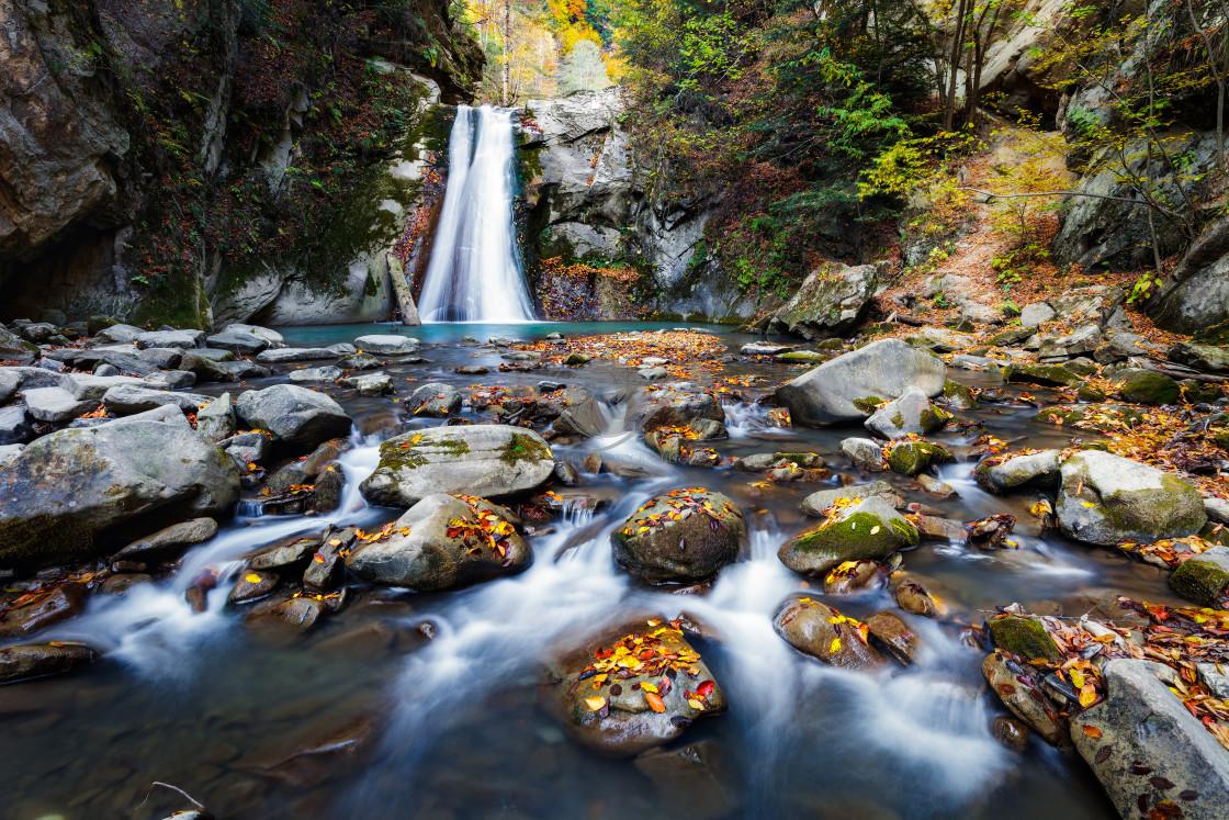 """Casoca waterfall"" stock image"