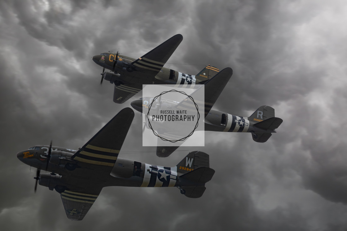 """""""That's All Brother, D Day Doll & Betsys Biscuit Bomber"""" stock image"""