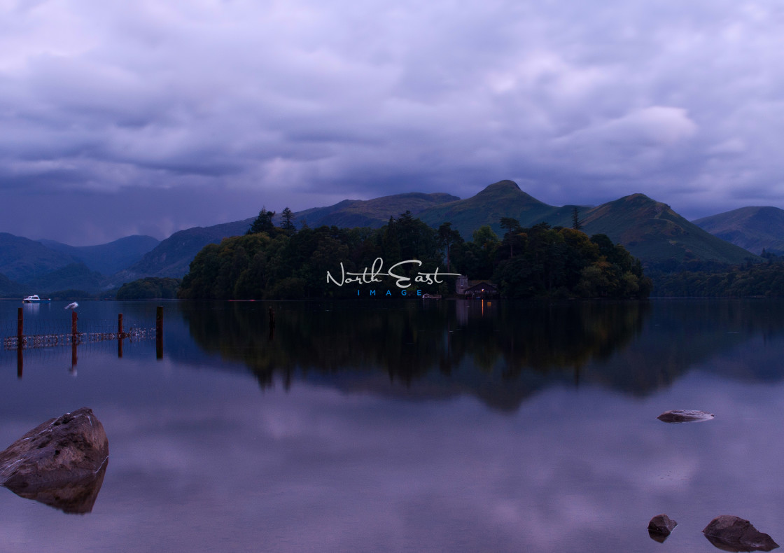 """Derwent Water"" stock image"