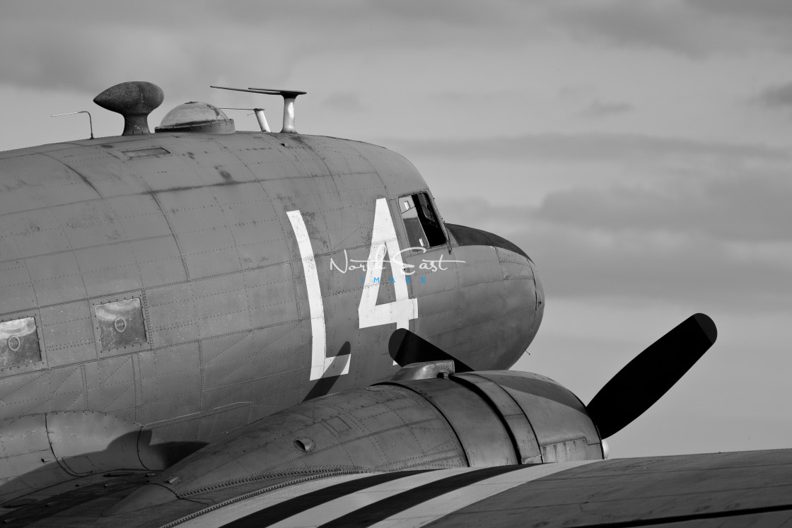 """DC3 Dakota"" stock image"
