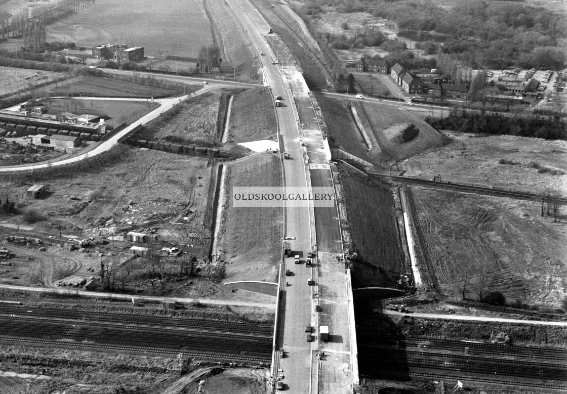 """Fletton Parkway (1983)"" stock image"