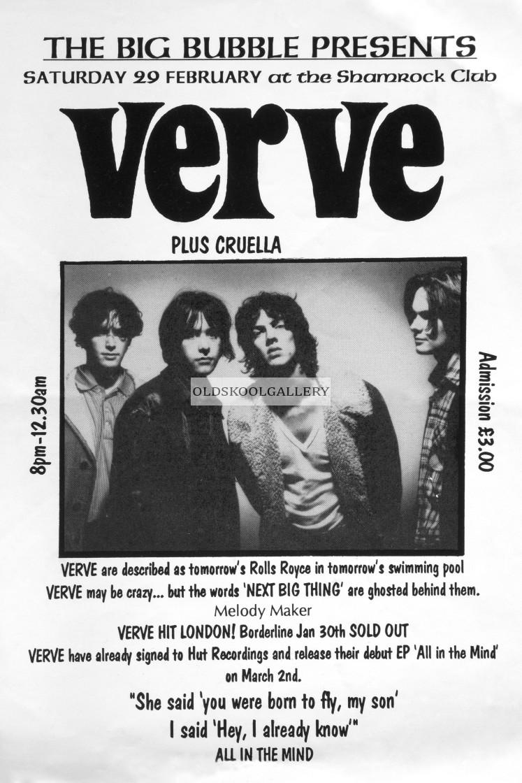 """The Verve - Shamrock Club (1992)"" stock image"