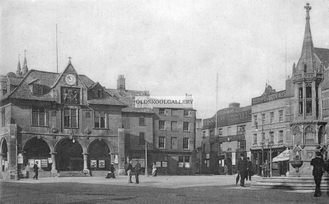 """""""Edwardian Market Place"""" stock image"""