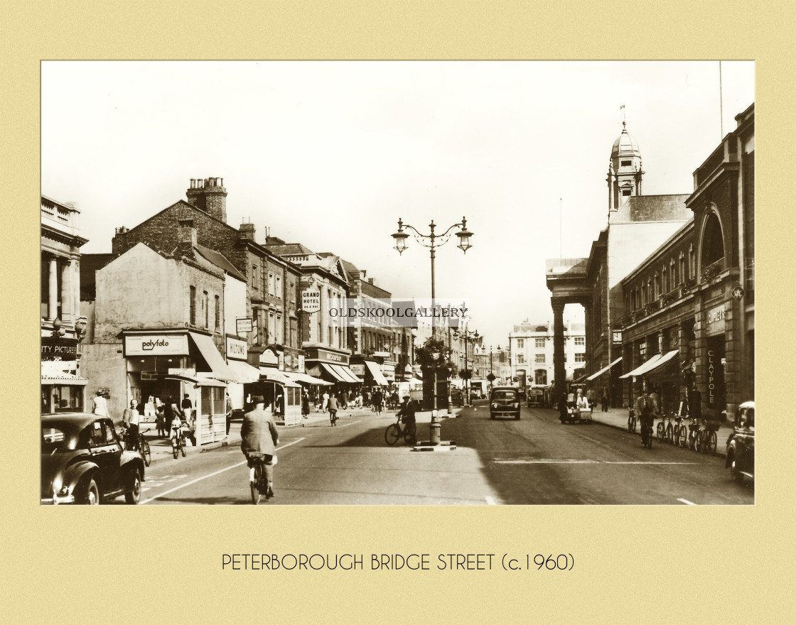"""Bridge Street (c.1960)"" stock image"