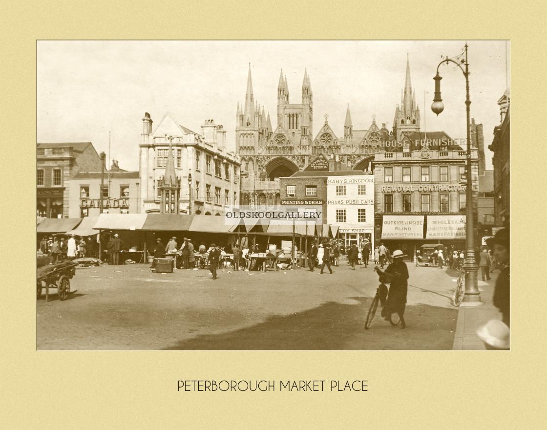 """Market Place & Shops"" stock image"