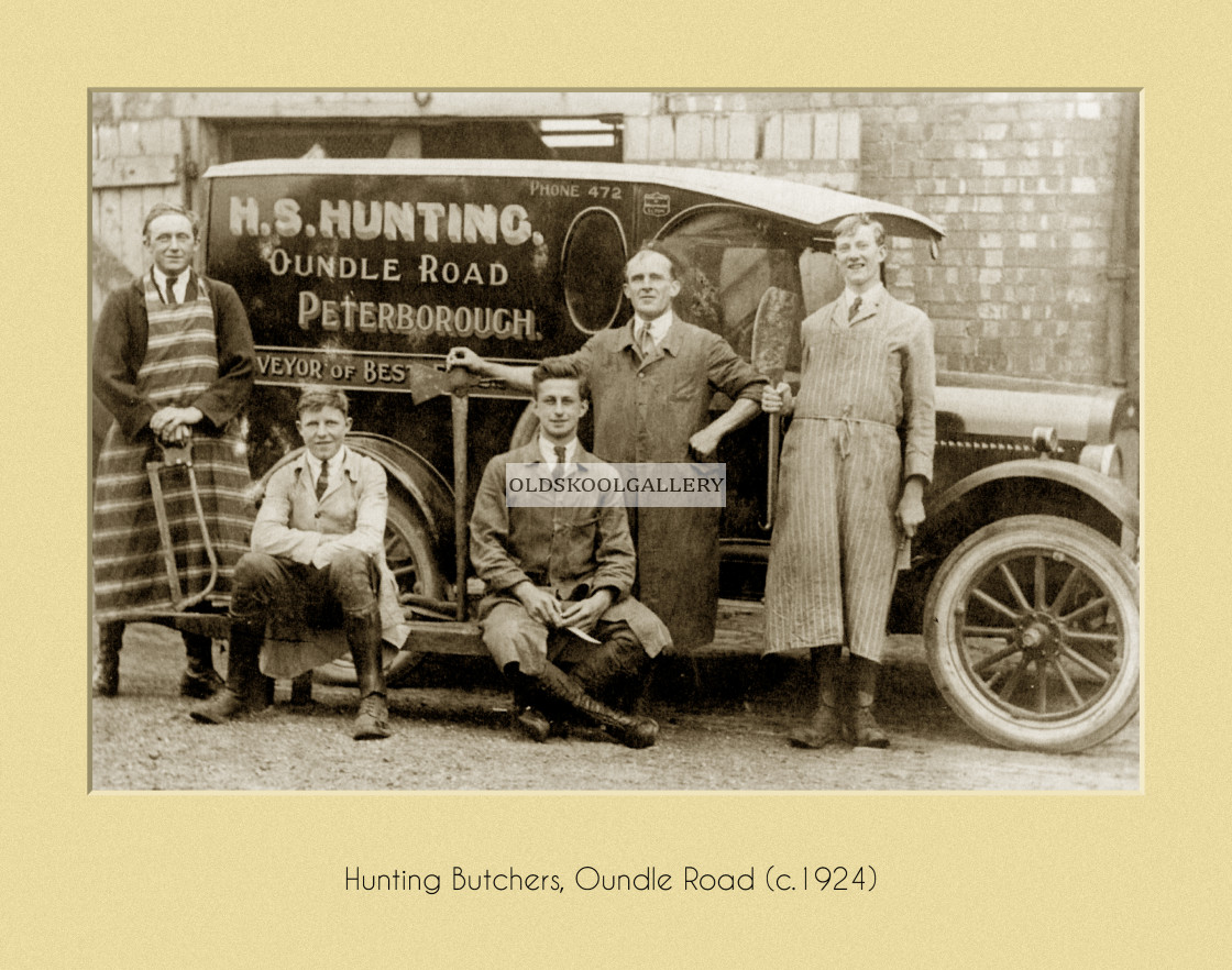 """Hunting Butchers (c.1924)"" stock image"
