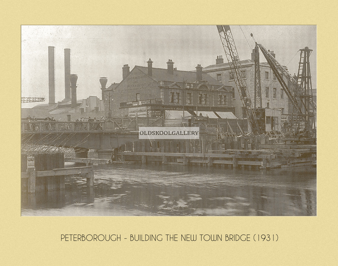 """New Town Bridge (1931)"" stock image"