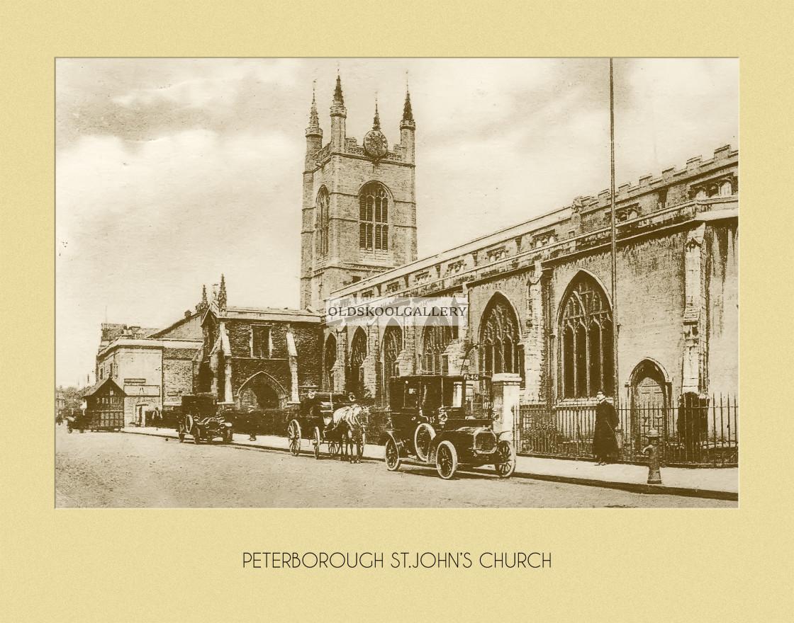 """St Johns Church"" stock image"