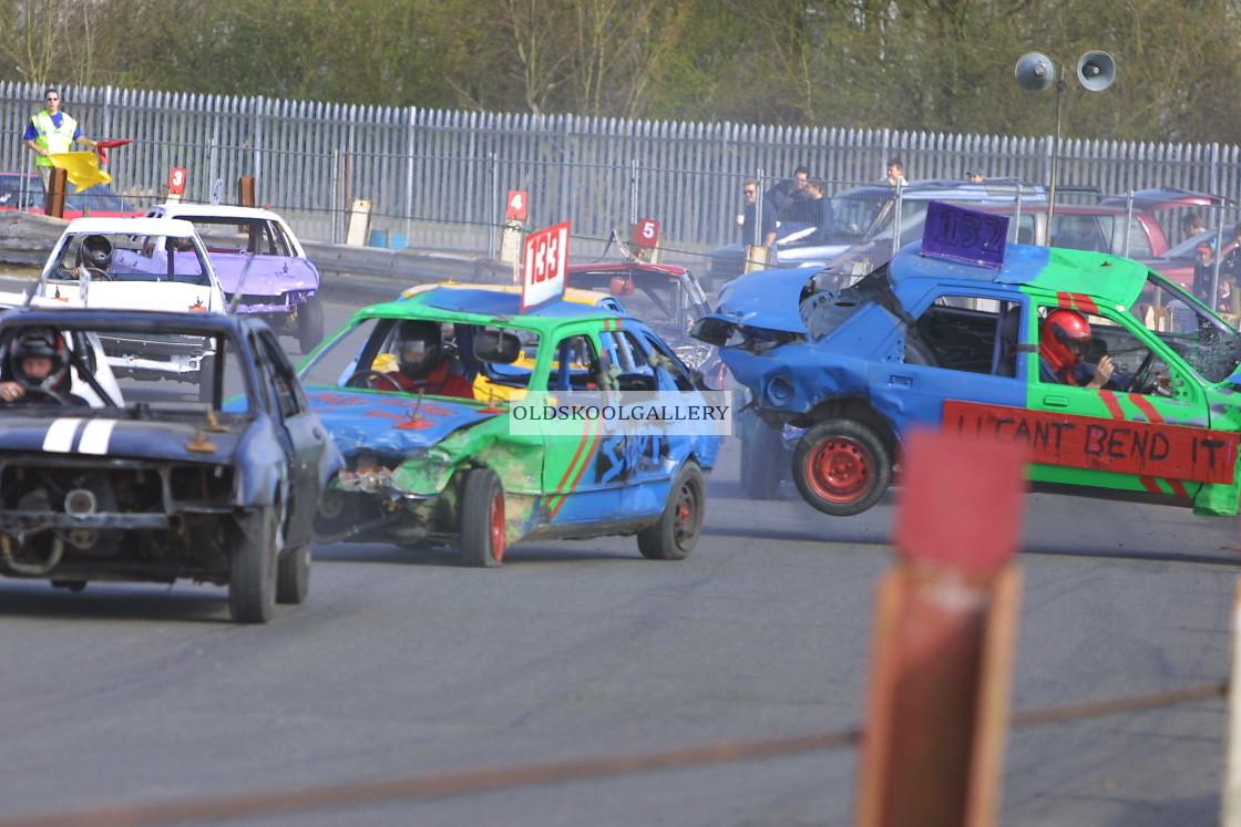 """Alwalton Raceway - Euro Weekend (March 2003)"" stock image"