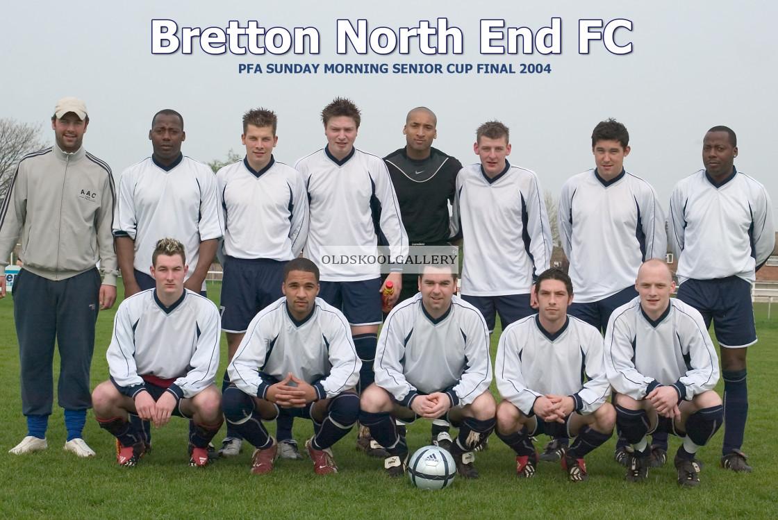 """""""Bretton North End FC (April 2004)"""" stock image"""