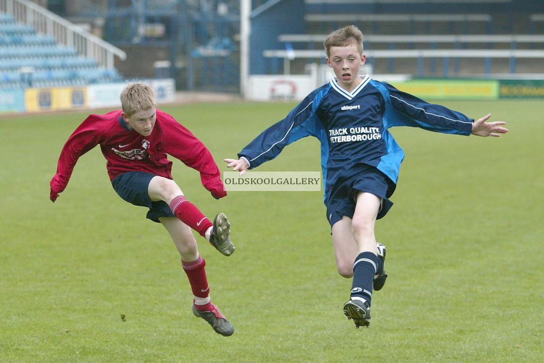 """Crowland Juniors FC U13s (May 2004)"" stock image"