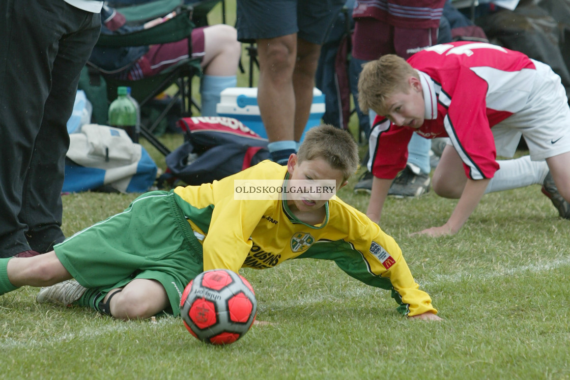 """""""Chatteris Town Football Festival (2004)"""" stock image"""