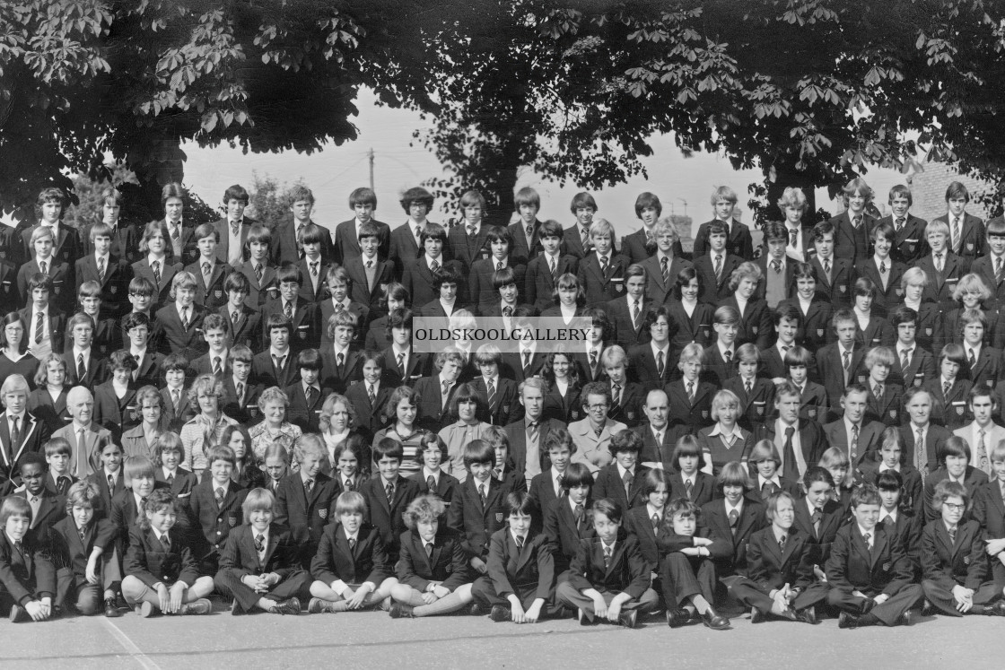 """Kings School 1978 - Group 5"" stock image"