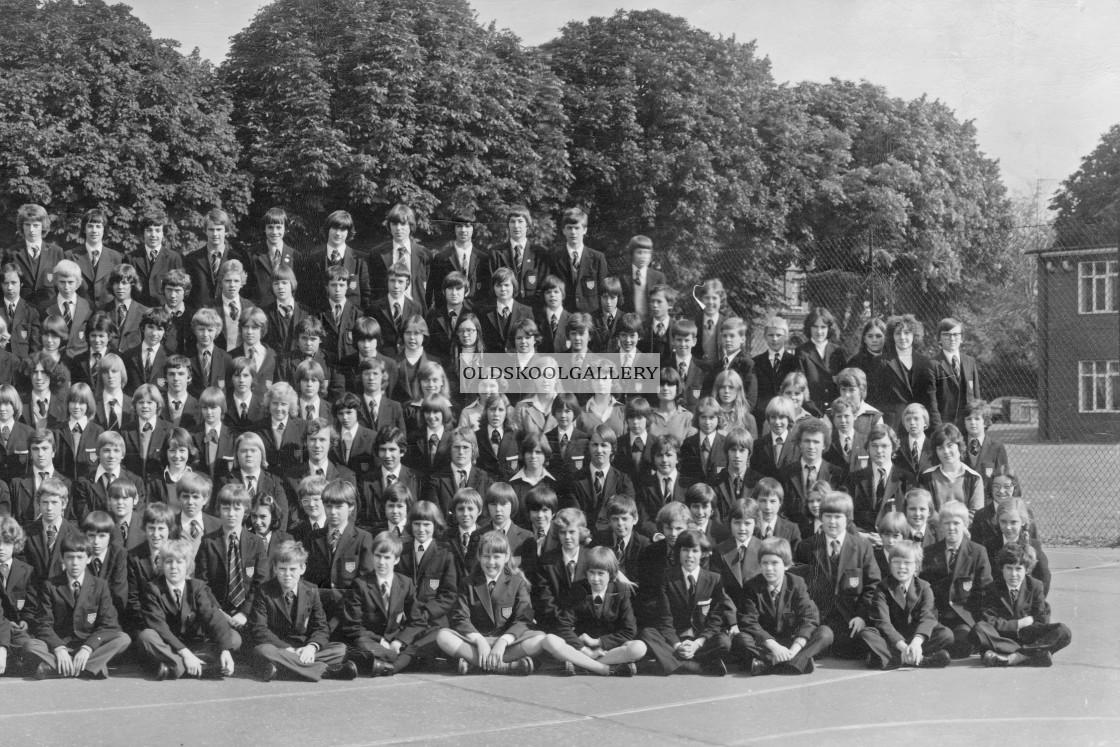 """Kings School 1978 - Group 1"" stock image"
