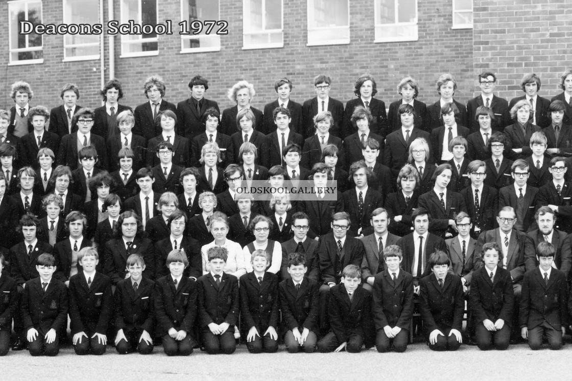"""""""Deacons School 1972"""" stock image"""