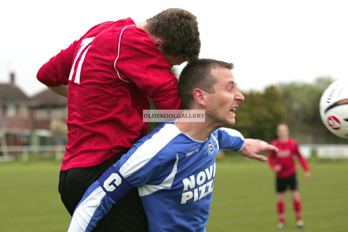 """""""Whittlesey Utd Reserves FC v Deeping Sports Reserves FC (2008)"""" stock image"""